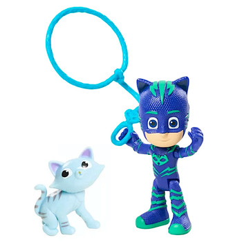 """Catboy with Cat & Lasso PJ Masks Figure 3"""" (New Loose)"""