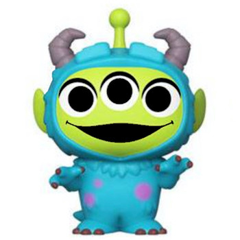 """Sulley Pixar Alien Remix Monsters Inc. Mystery Figure 3"""" Sealed Box"""