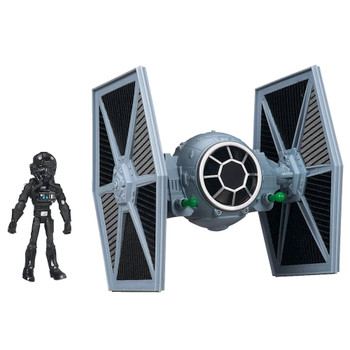 Star Wars Tie Fighter and Pilot Toybox Action Figure Set