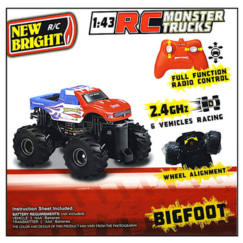 Bigfoot 45th Anniversary Radio Controlled Monster Truck 1/43 2.4GHZ