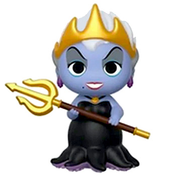"""Queen Ursula The Little Mermaid Mystery Minis Figure 3"""" Sealed Box"""