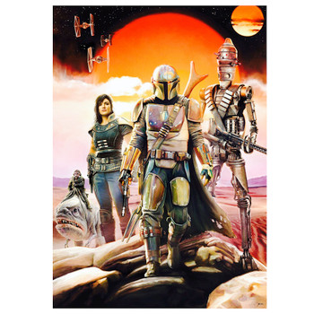 Star Wars The Mandalorian Bounty Hunting is A Complicated Thing Puzzle 500 piece