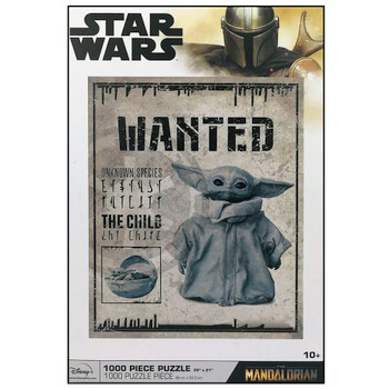 Star Wars the Mandalorian Wanted The Child (Baby Yoda) Puzzle 1000 Piece