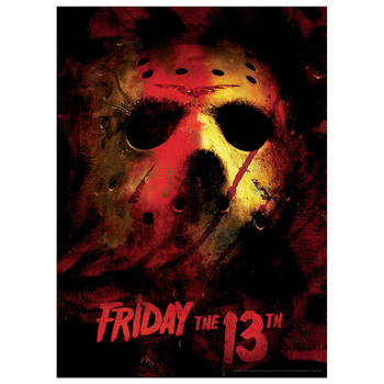 Friday the 13th Jason Mask Puzzle 1000 Piece