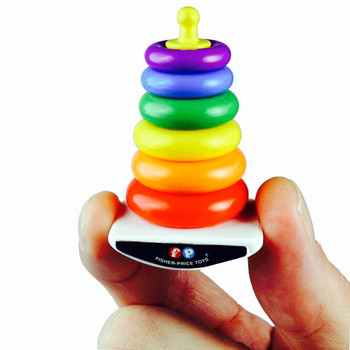 World's Smallest Fisher Price Rock A Stack