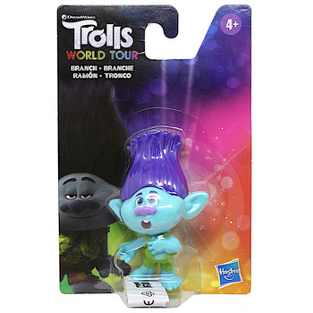 Branch Trolls World Tour Action Figure 3""