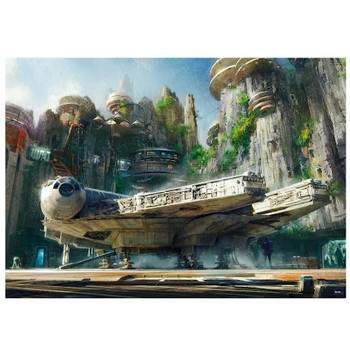 Star Wars Galaxy's Edge Trading Post Puzzle 500 Piece