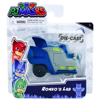 PJ Masks Metallic Romeo's Lab DieCast Car 1/43 Scale