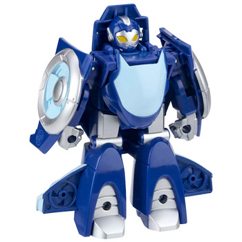 """Whirl the Flight Bot to Jet Rescue Bots Academy Playskool Transformer 4.5"""""""