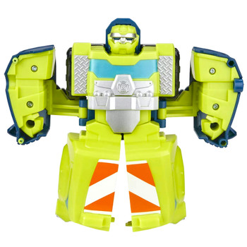 """Salvage to Cement Mixer Truck Rescue Bots Academy Playskool Transformer 4.5"""""""