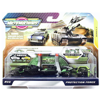 Micro Machines Protection Force with Micro City Scene