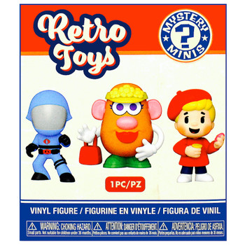 """Stretch Armstrong Funko Retro Toys Mystery Minis Figure 3"""" Sealed Box"""