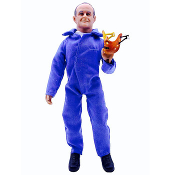 """Silence of The Lambs Hannibal Lecter Mego Action Figure 8"""""""