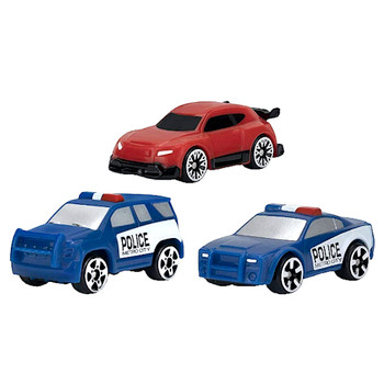 Micro Machines Micro Police Chase 3 Pack Cars