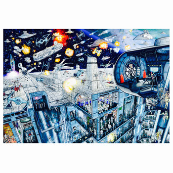 Star Wars Inside the Death Star Puzzle 2000 piece