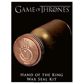 Hand of the King Wax Seal Miniature Replica Game of Thrones Running Press Miniature Editions