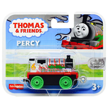 Percy Chrome with Flames Thomas & Friends Adventures Metal Engine