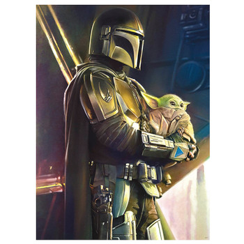 Star Wars The Mandalorian Wherever I Go, He Goes Puzzle 1000 piece