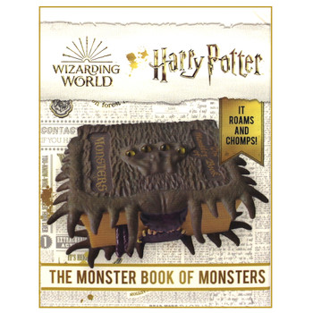 The Monster Book of Monsters Harry Potter Running Press Miniature Editions