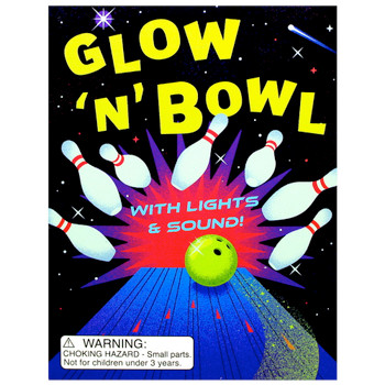 Glow 'N' Bowl With Lights & Sounds Running Press Miniature Edition