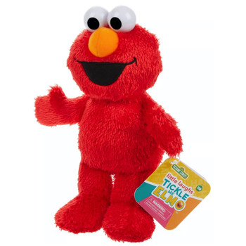 Tickle Me Elmo with Sounds Little Laughs Sesame Street Plush Figure 10""