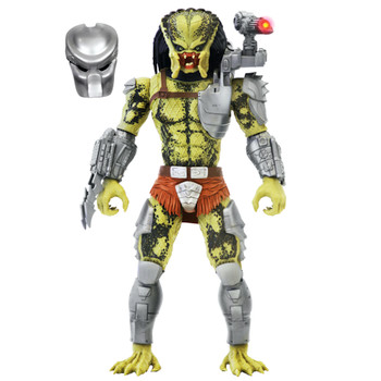 """Predator Posable Figure with Open Action Jaw 12"""""""