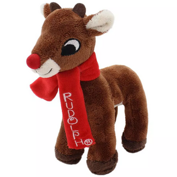 """Rudolph the Red Nosed Reindeer Plush 7"""""""