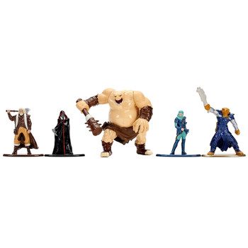 """Dungeons & Dragons 5pk Diecast 1.5"""" Figures with Ogre"""