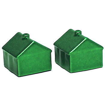 Monopoly Green Houses 2 Pack Exclusive Diecast Pieces (New Loose)
