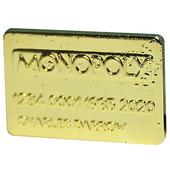 Monopoly Gold Tile Token Exclusive Diecast (New Loose)