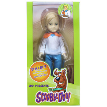 """Scooby Doo Fred Living Dead Doll 10.5"""""""