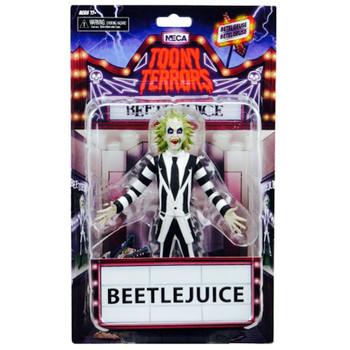 "Beetlejuice Toony Terrors Action Figure 6"""