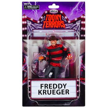 "Freddy Krueger Nightmare on Elm Street Toony Terrors Action Figure 6"""