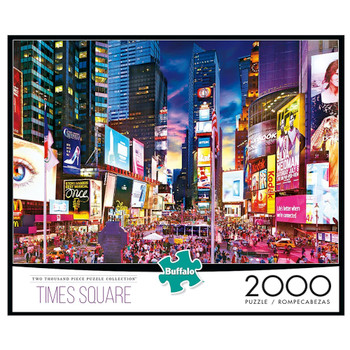 New York Times Square Puzzle 2000 Pieces