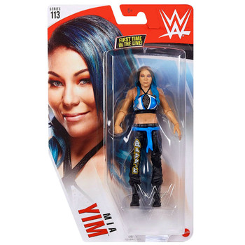 """Mia Yim First Time in Line WWE Wrestling Figure 6"""" Series 113"""