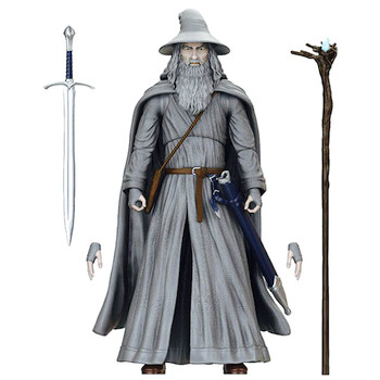 """The Lord of the Rings Gandalf BST AXN Best Loyal Subjects Action Figures 5"""""""