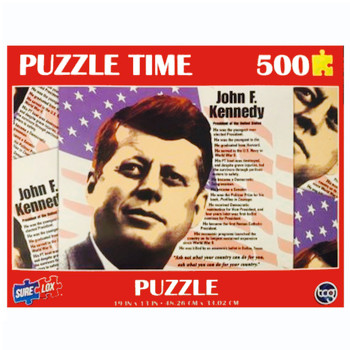 John F. Kennedy Puzzle 500 Pieces