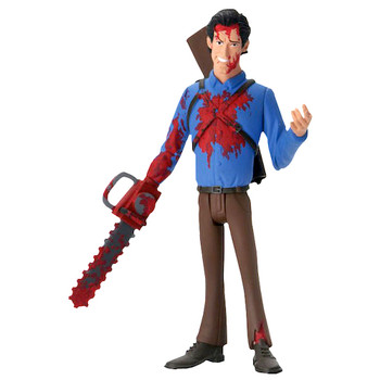 """Ash Bloody Variant Evil Dead Toony Terrors Action Figure 6"""""""
