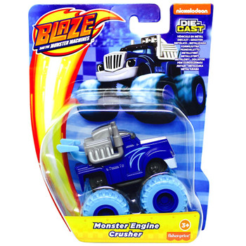 Monster Engine Crusher Blaze & the Monster Machines Die-Cast Vehicle