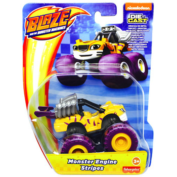 Monster Engine Stripes Blaze & the Monster Machines Die-Cast Vehicle