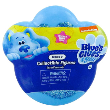 """Blue's Clues & You Standing Blue Collectible Figure 2"""" Series 2"""