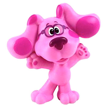 """Blue's Clues & You Standing Magenta Collectible Figure 2"""" Series 2"""