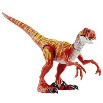 Velociraptor Jumping Action Jurassic World Camp Cretaceous Savage Strike Dinosaur