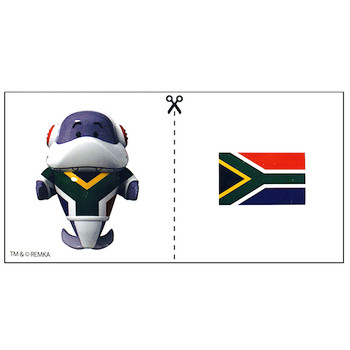 """South Africa Gil Ryan's World Tour Micro Figure 2"""" (New Loose)"""