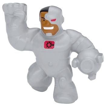 "Cyborg DC Pocket Size Heroes of Goo Jit Zu Minis 2.5"""