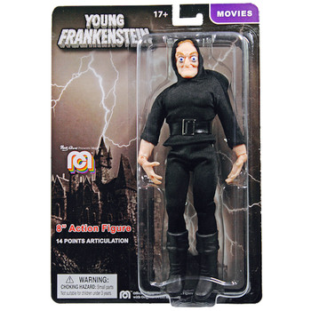 "Igor Young Frankenstein Movie Mego Action Figure 8"""