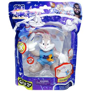 "Bugs Bunny Space Jam 2 Heroes of Goo Jit Zu with Goo Filling Figure 4"""