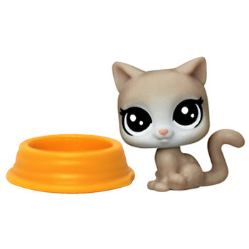 """Ice Capper With Bowl Littlest Pet Shop Pet Playhouse Kitten 1/2"""" (New Loose)"""