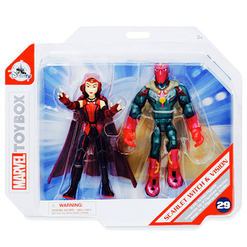 """Scarlet Witch & Vision Marvel Toybox Action Figure 5"""""""