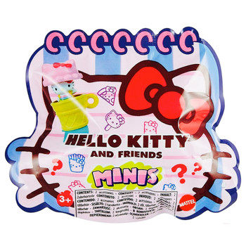 """Hello Kitty My Melody French Fries Triple Fun Figure 1.5"""" Sealed"""